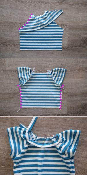 Como Hacer Un Vestido Facil Para Niña Paso A Paso Como