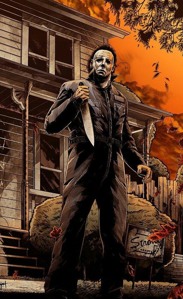 MICHAEL MYERS Halloween film, Halloween movies, Michael
