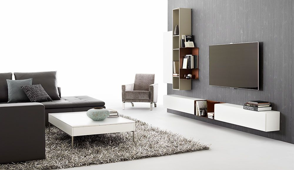 muebles de sala modernos de boconcept mueble de tv. Black Bedroom Furniture Sets. Home Design Ideas