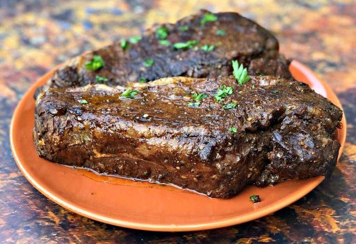 Air fryer marinated steak with video ketorecipes