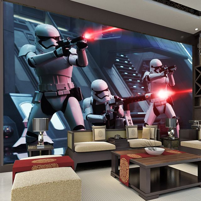 Star Wars Wall Murals star wars photo wallpaper storm troop wallpaper custom 3d wall