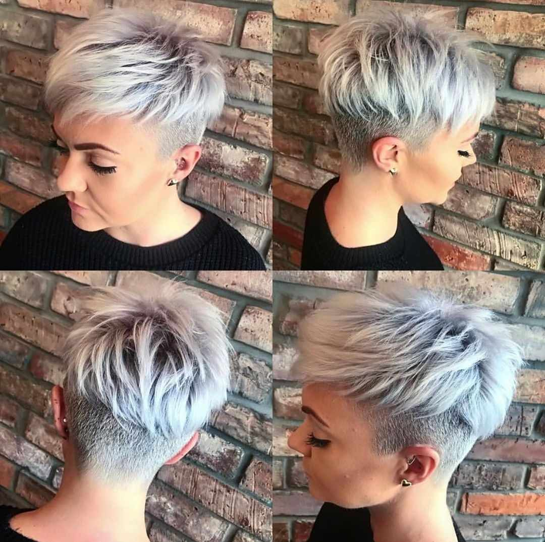 30 Trendy Short Hairstyles In Focus This Winter In 2020 Short Hair Undercut Thick Hair Styles Long Pixie Hairstyles