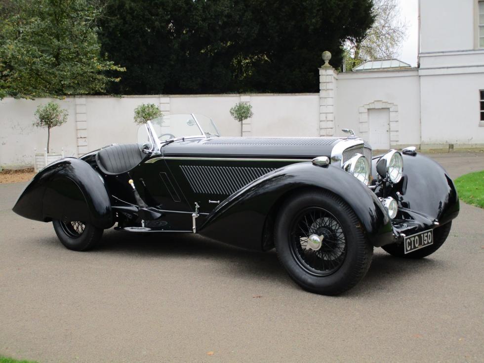 1936 Bentley 4 1 4 Litre For Sale Count Trossi Style Roadster Roadsters Bentley Bentley Car