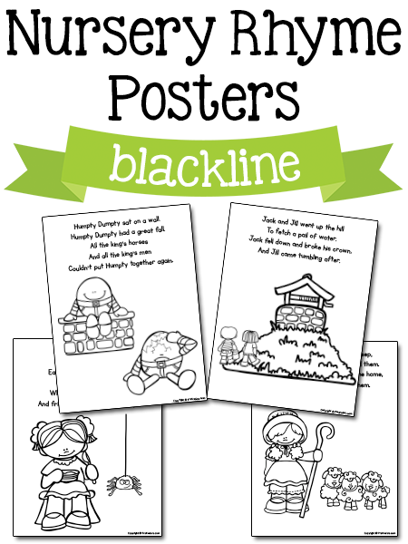 Nursery Rhyme Printables