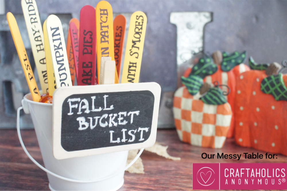 Craftaholics Anonymous® | Fall Bucket List #fallbucketlist