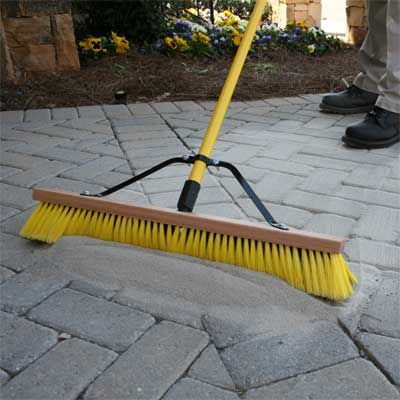 Our Favorite New Building And Deck Products. Setting Sand Is Simpler Than  Mortar For Filling Gaps Between Pavers Or Slabs. Stone Patio ...