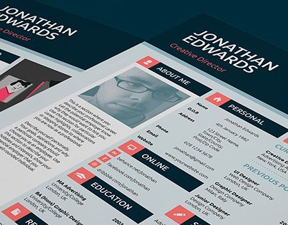 Check out this @Behance project Professional Resume Portfolio - portfolio cover letter
