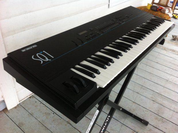 Vintage Rare Ensoniq Sq1 Synthesizer Workstation Keyboard
