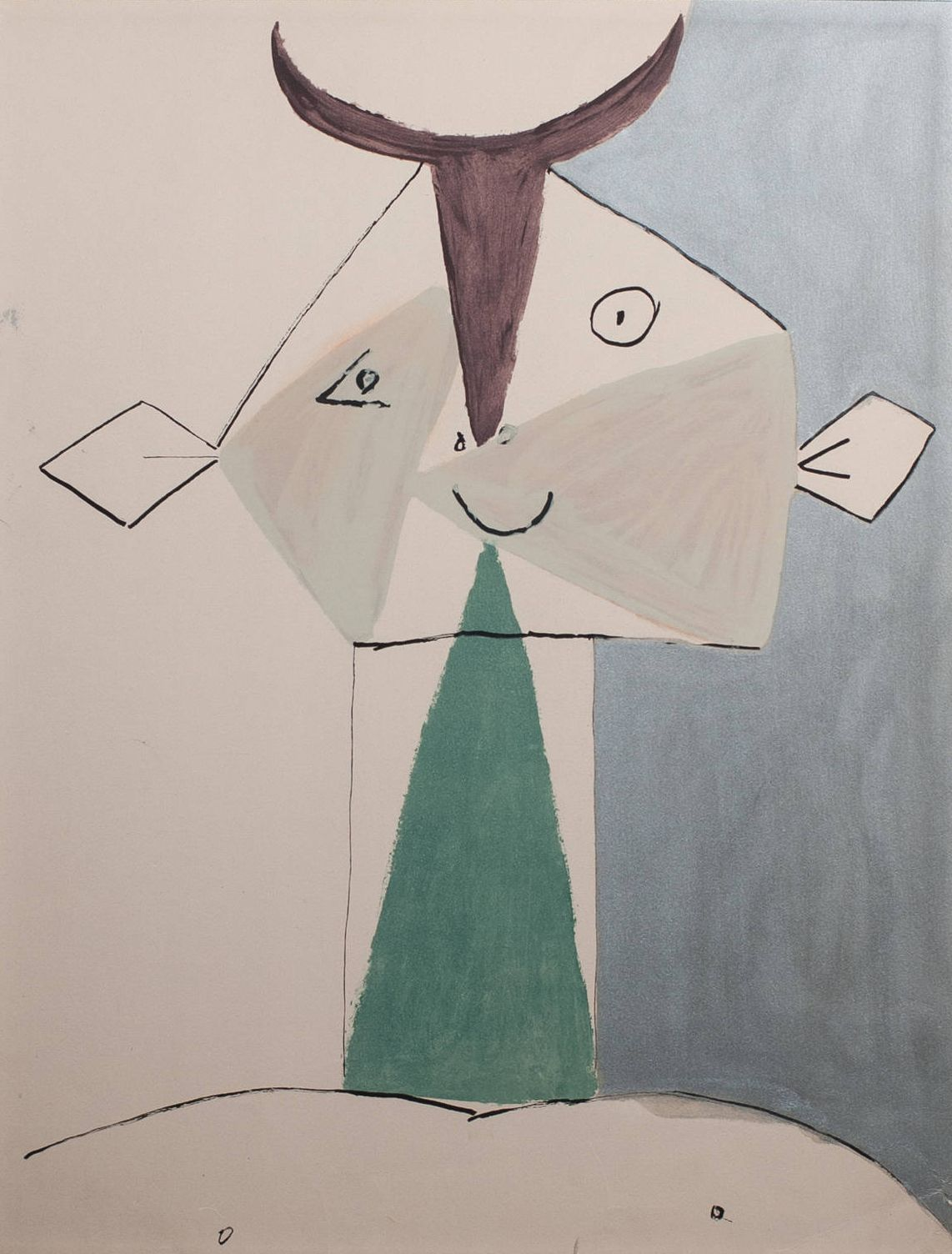Pablo Picasso: Large Faun (1960)