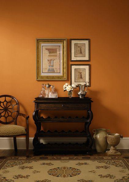 Orange Paint Color Pittsburg
