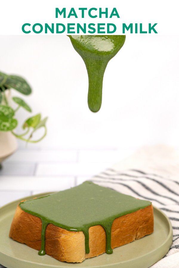 Matcha Condensed Milk In 2020 Japanese Milk Bread Matcha Recipe Recipes