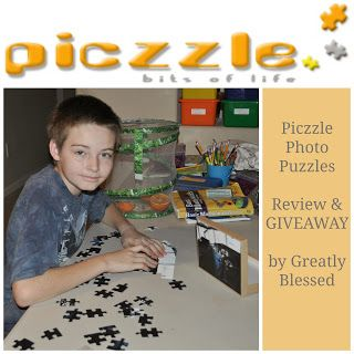 Greatly Blessed: Piczzle Photo Puzzles GIVEAWAY