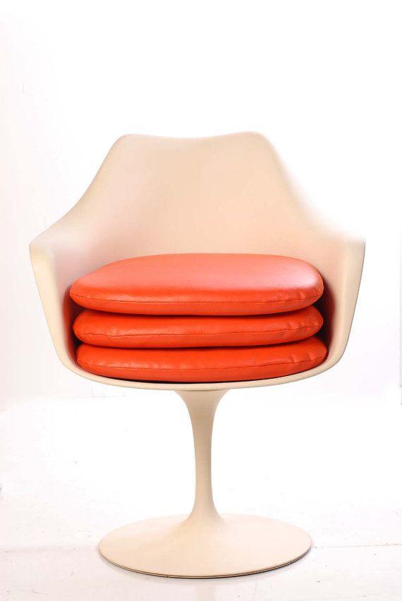 Replacement Cushion Eero Saarinen Tulip Chair By Midcentury8 With