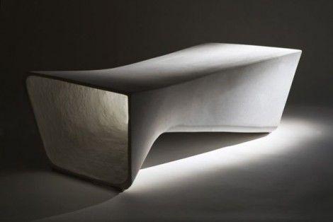 Daniel Miese: Concrete Bench