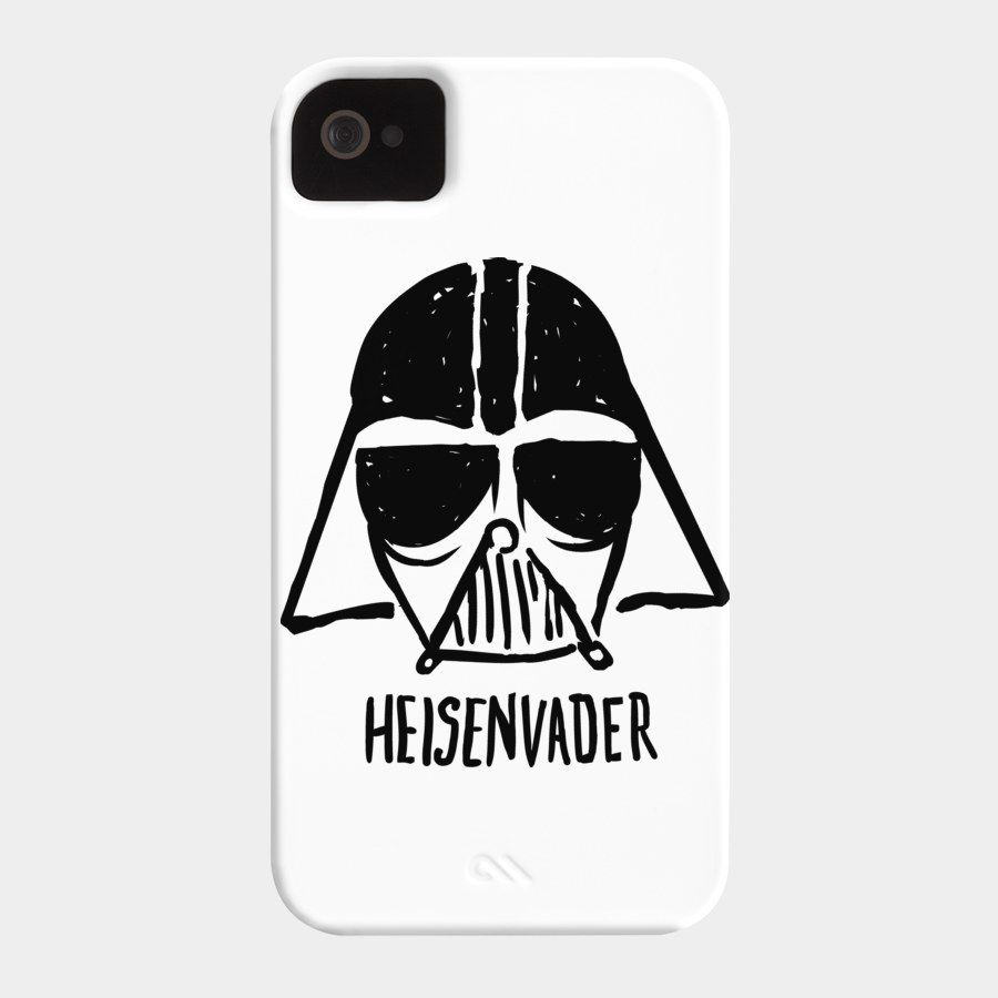 bc8471dba HEISENVADER Phone Case By Juanfoo Design By Humans. HEISENVADER Phone Case  By Juanfoo Design By Humans Star Wars Tshirt, Breaking Bad ...
