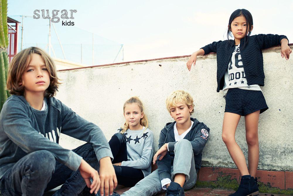 Santi, Carla, Héctor y Sira de Sugar Kids para Lefties
