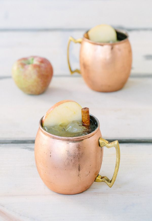 We Had To Put The Half Gallon Of Apple Cider We Have From Our Apple Picking Adventure To Good Use So M Apple Cider Moscow Mule Cider Recipe Apple Cider Recipe