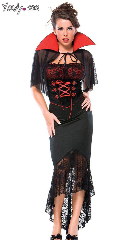 Voluptuous V&ire Costume  sc 1 st  Pinterest & Voluptuous Vampire Costume | Halloween Costumes | Pinterest ...