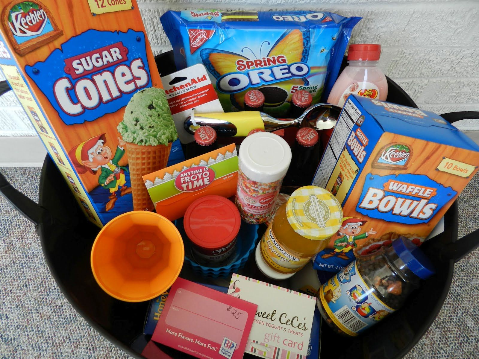 Oak hill baptist childcare spaghetti dinner auction fundraiser basket ideas for raffle negle Image collections