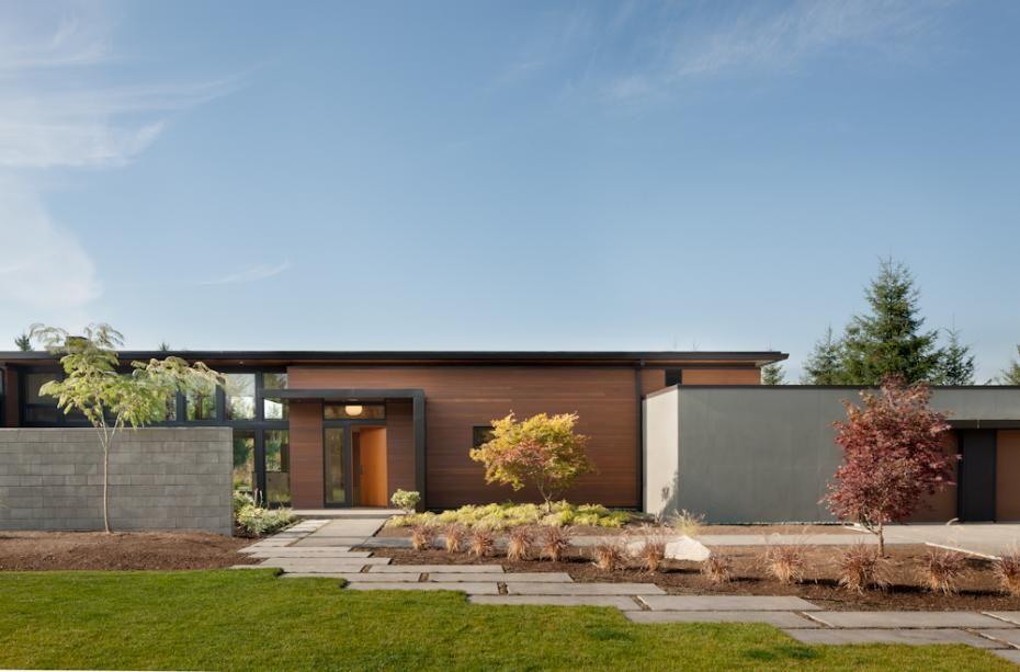 Home Design Olympia Wa Part - 20: Coates Design Architects Have Designed The Olympia Residence In Yelm,  Washington. Settled On The Rural Plains Of Washington State, Coates  Architects Constr