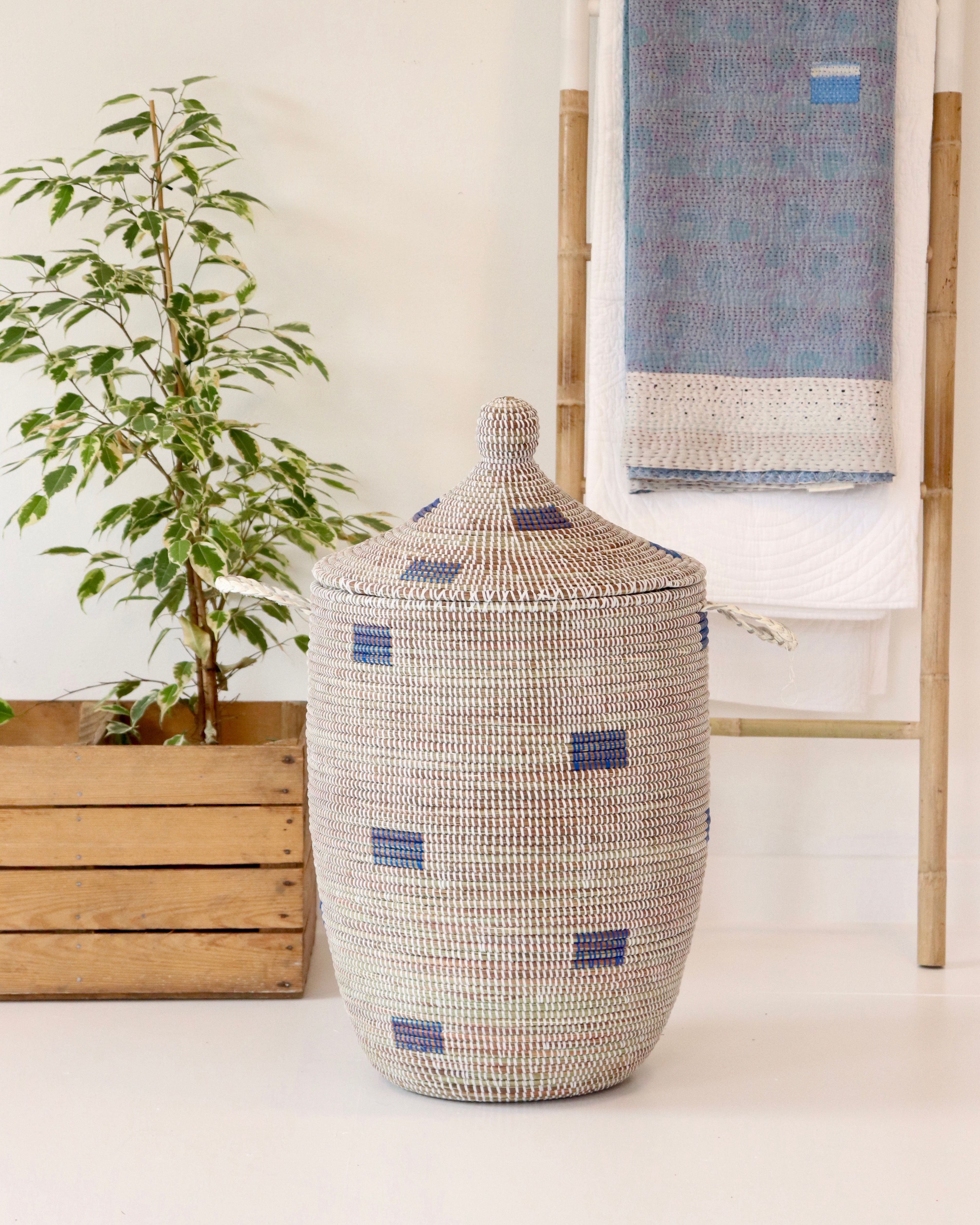 Hand Woven Laundry Baskets Made In Senegal Smart Beautiful