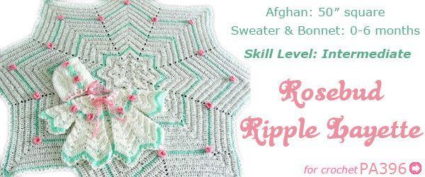 Maggie\'s Crochet · Baby Ripple Afghan - Free Crochet Pattern ...