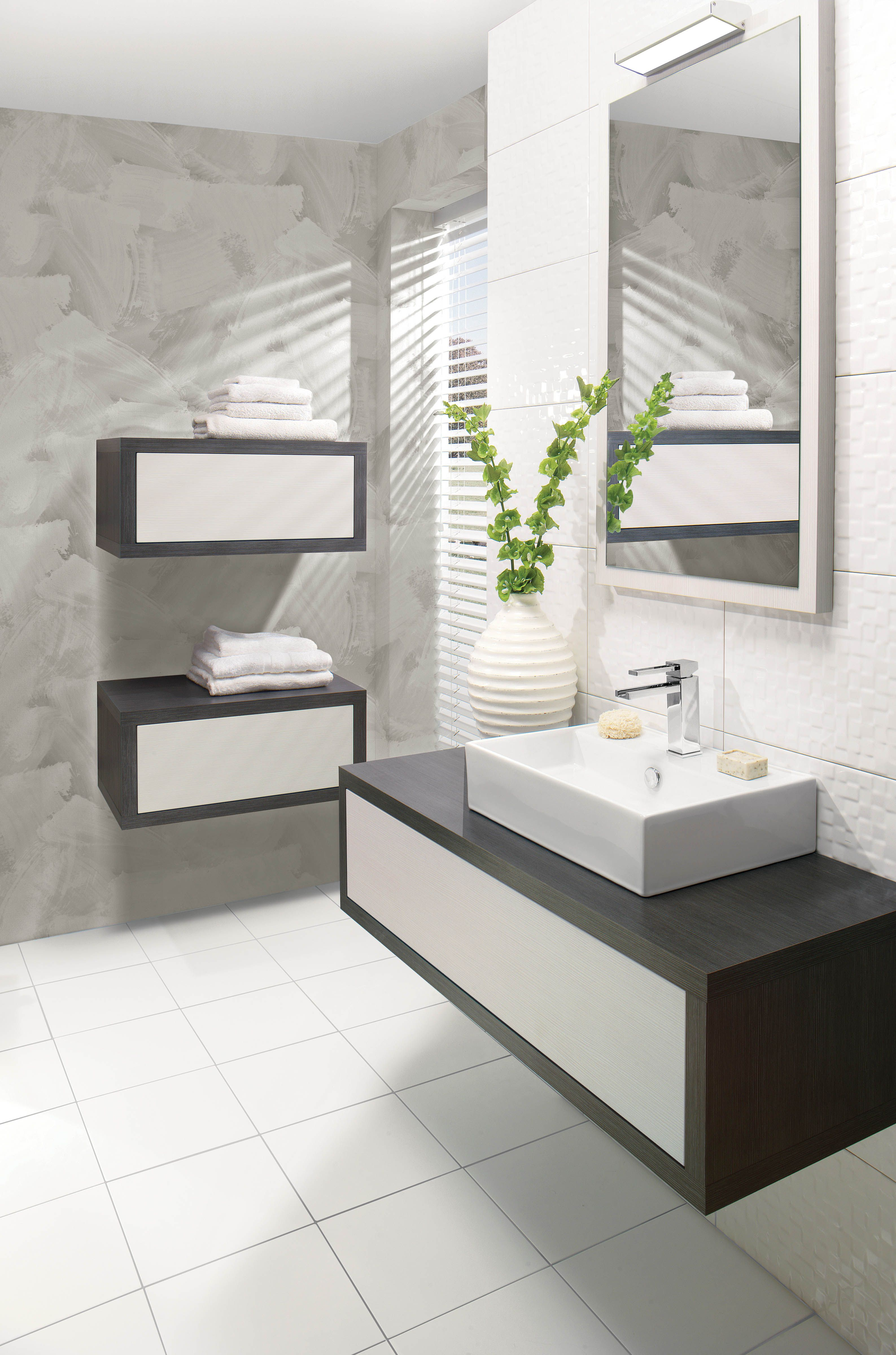 Touch Steel Bathroom Furniture Range from Crosswater http