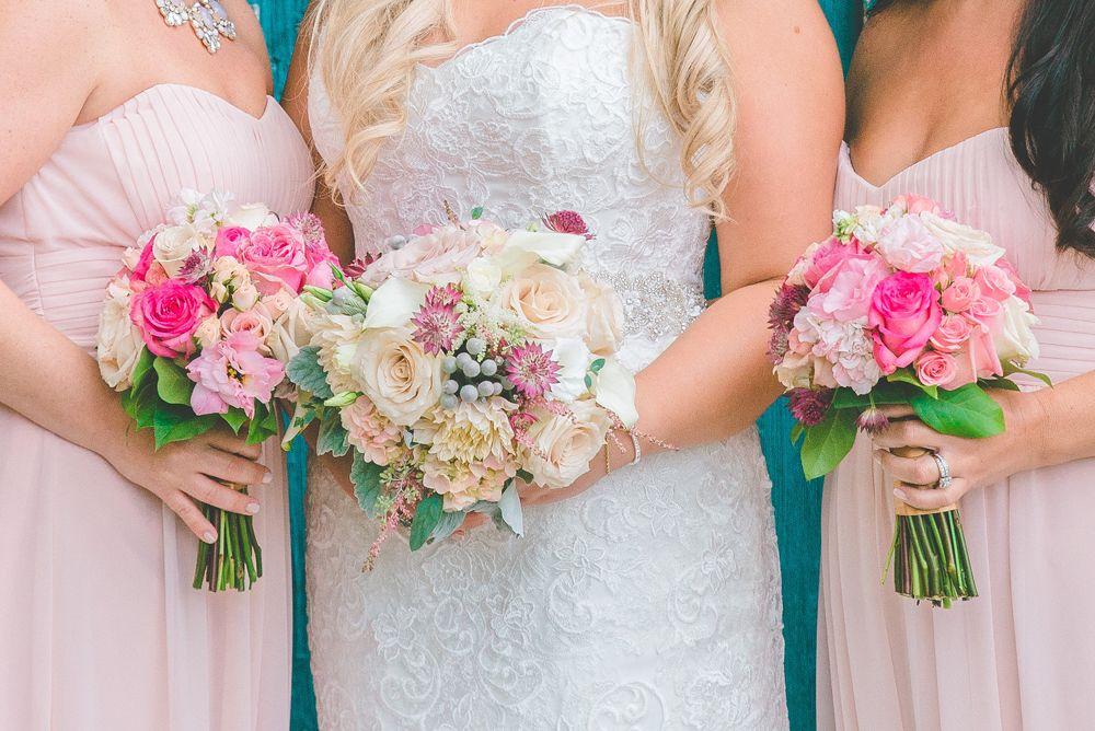 Weddings Reynolds Garden Shop Blush Bouquet Wedding Ballroom