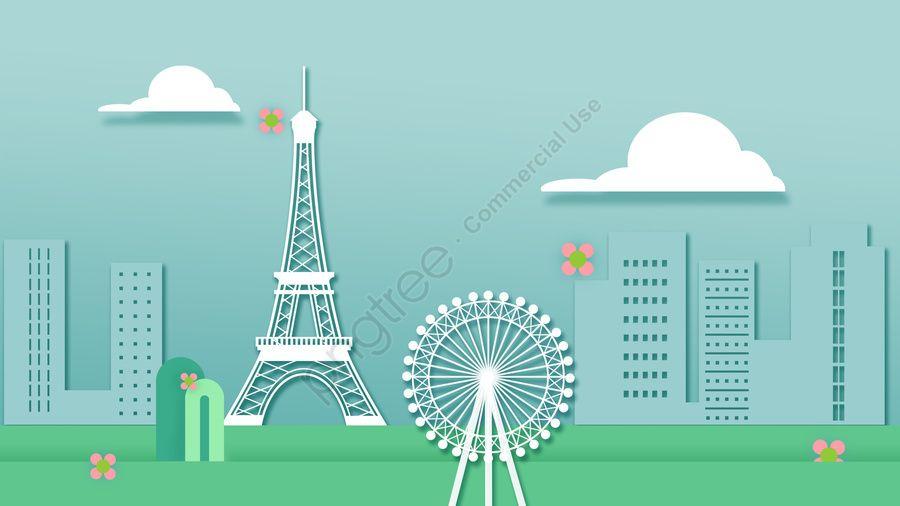 مدينة برج ايفل في فرنسا بناء كرتون بناء الكرتون صورة توضيحية على Pngtree غير محفوظة الحقوق Tower City France Eiffel Tower Eiffel Tower