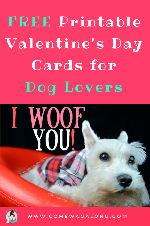 Free Printable Valentine S Day Cards For Dog Lovers Printable Valentines Day Cards Valentines Printables Free Valentine Day Cards