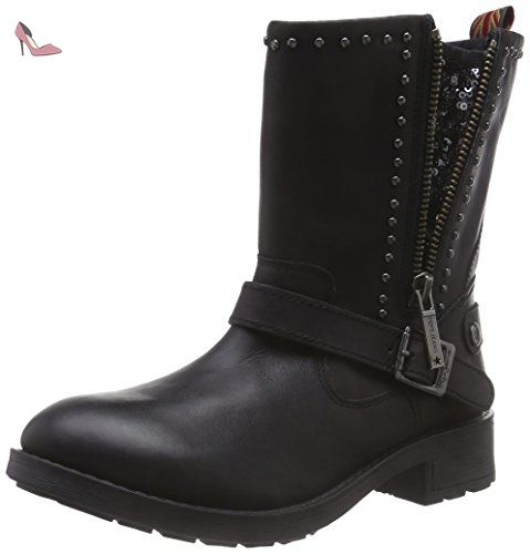 London Hellen Laces, Bottes Femme, Noir (Black), 39 EUPepe Jeans London