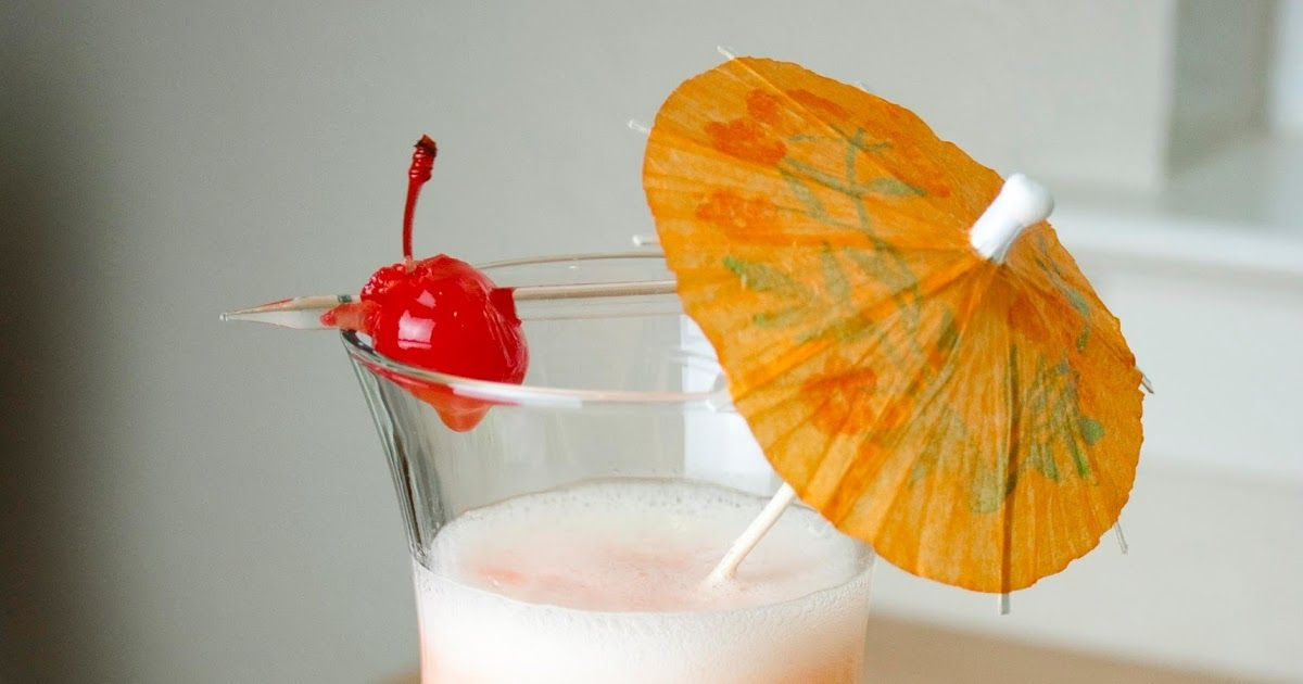 A Year of Cocktails: Banana Pineapple Colada