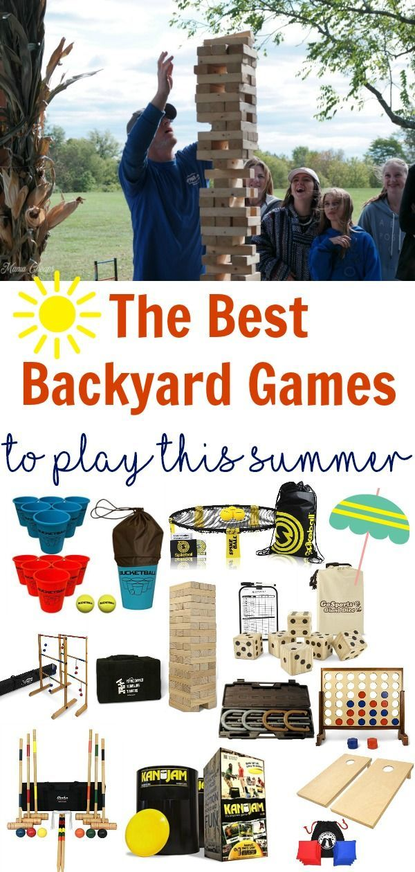 Best Backyard Games to Play This Summer Family games