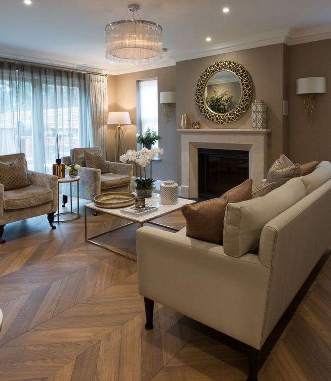 grey wood floors living room decor interior design 15