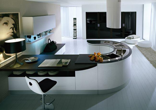 Bien-aimé cuisine-ilot-central-4.jpg (650×459) | HOGAR | Pinterest | Ilot  UI98