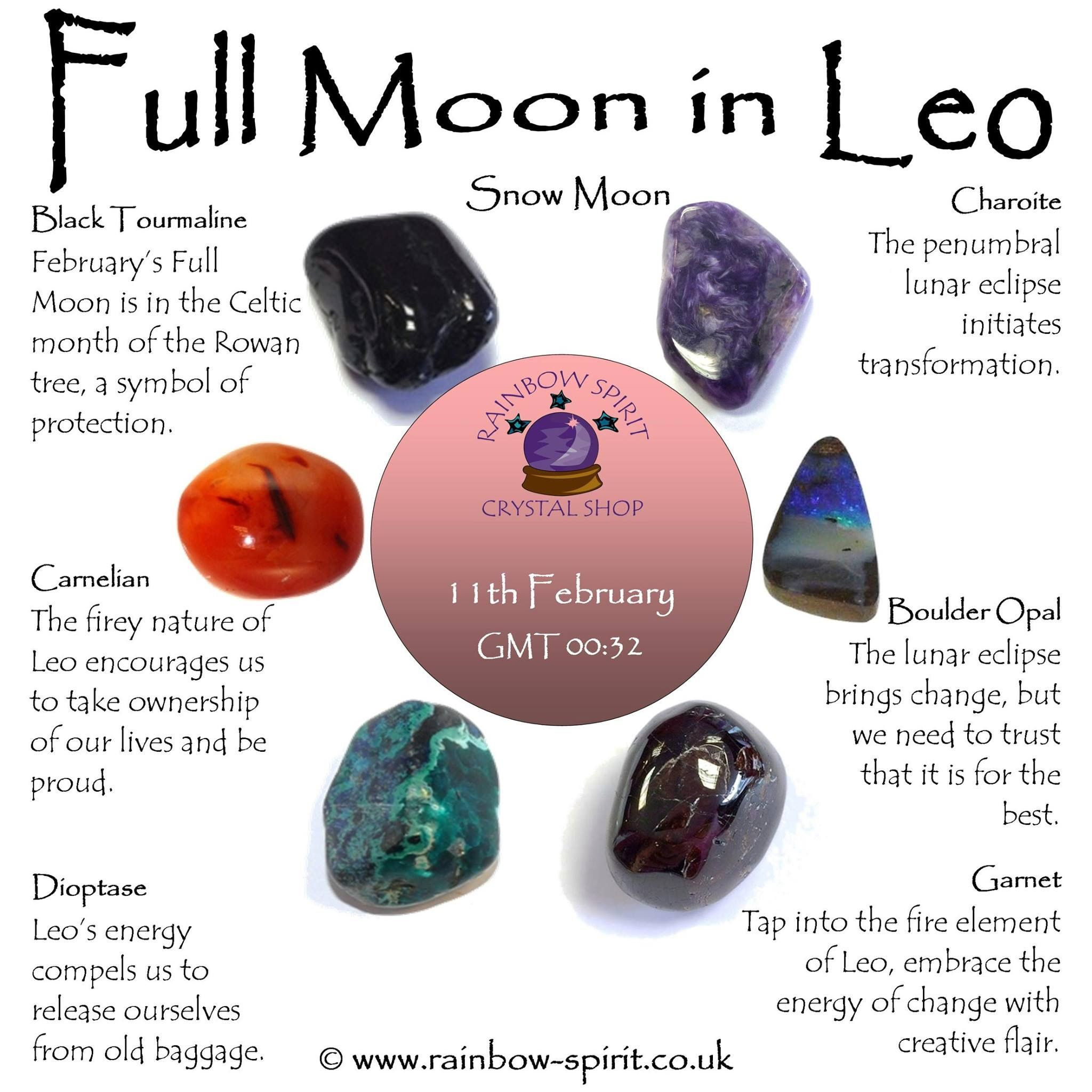 Crystal healing stones and my perspective on the Full Moon