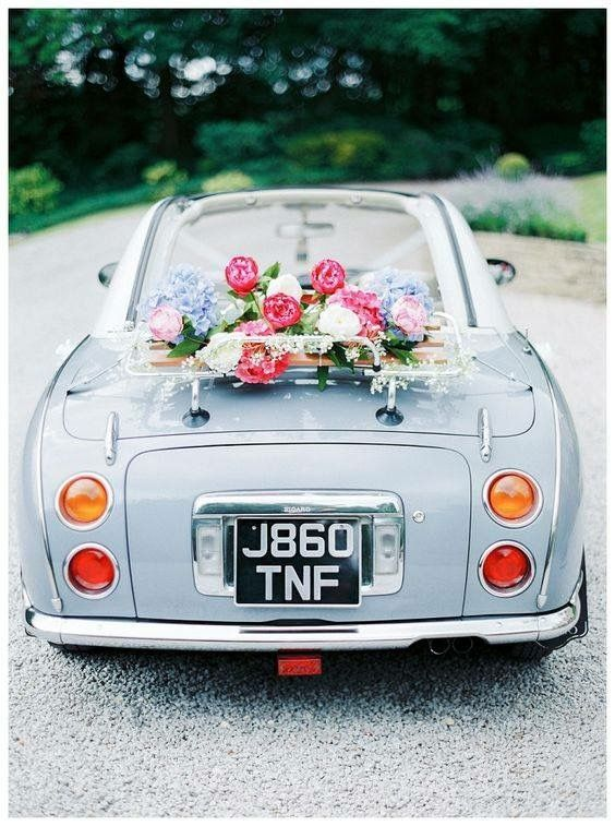 Ongebruikt Pin van Mk Events By Santo Weddings op Wedding car decoration NM-88