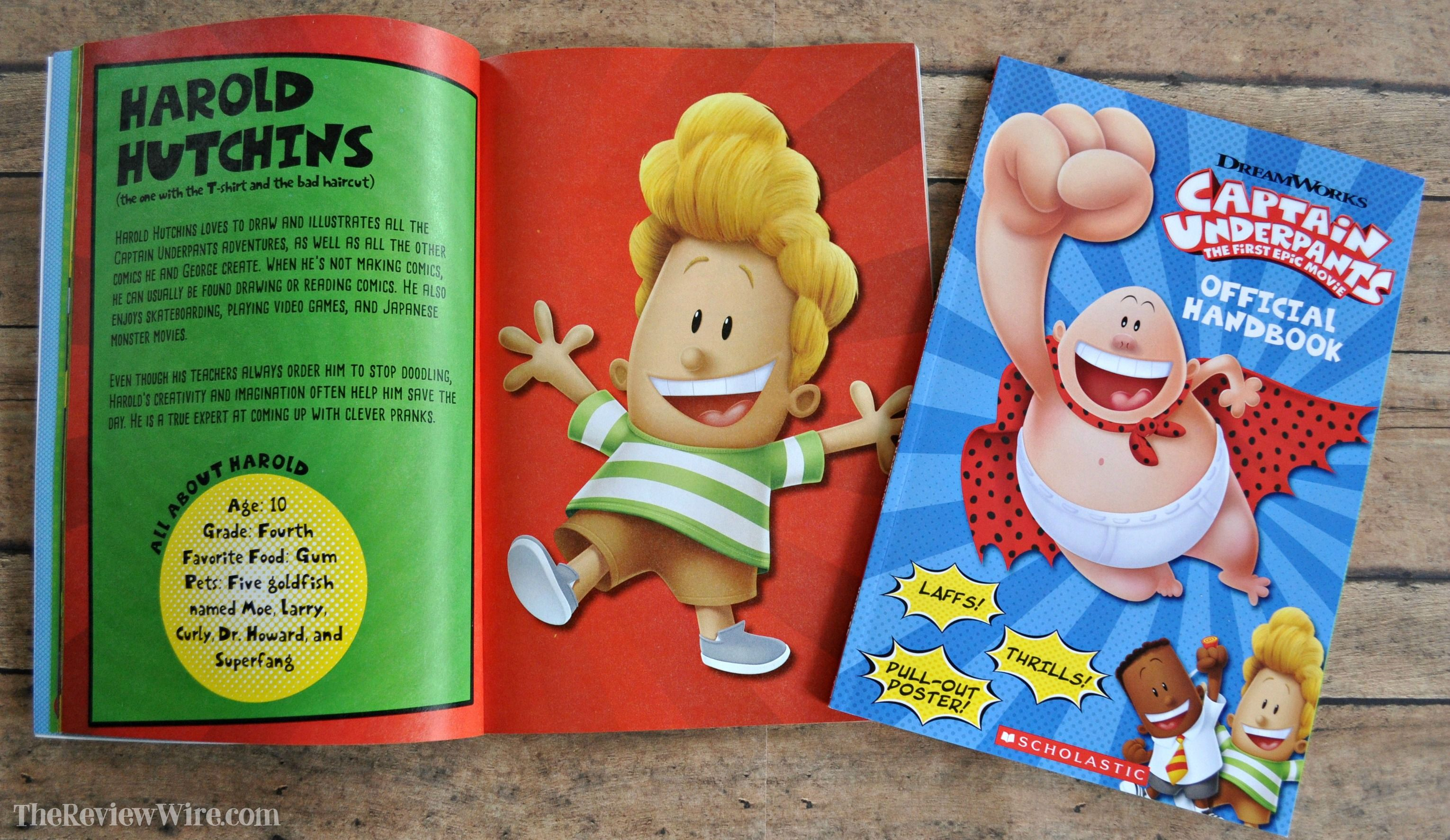 Captain Underpants The First Epic Movie Movie Night Fun The Review Wire Epic Movie Captain Underpants Captain