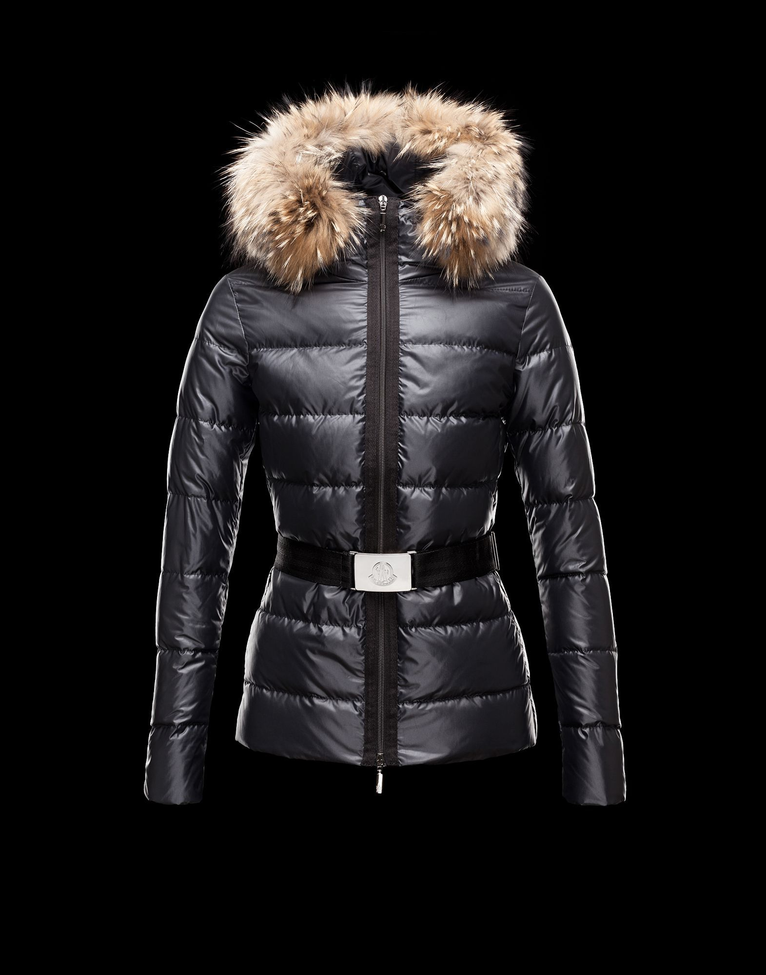 Moncler 2013 Womens Jacket Angers Black for Sale