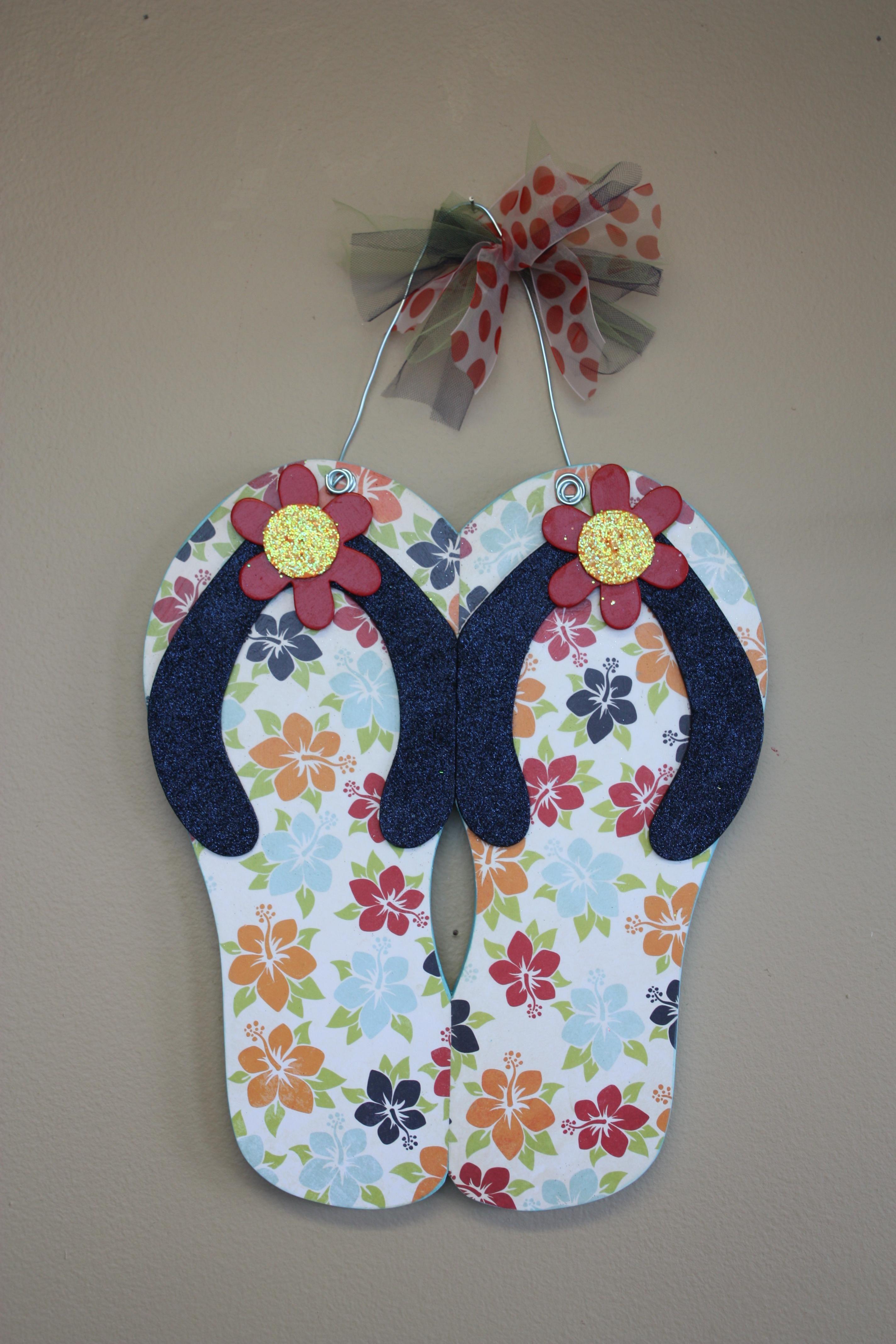 Hanging Flip Flops Crafts