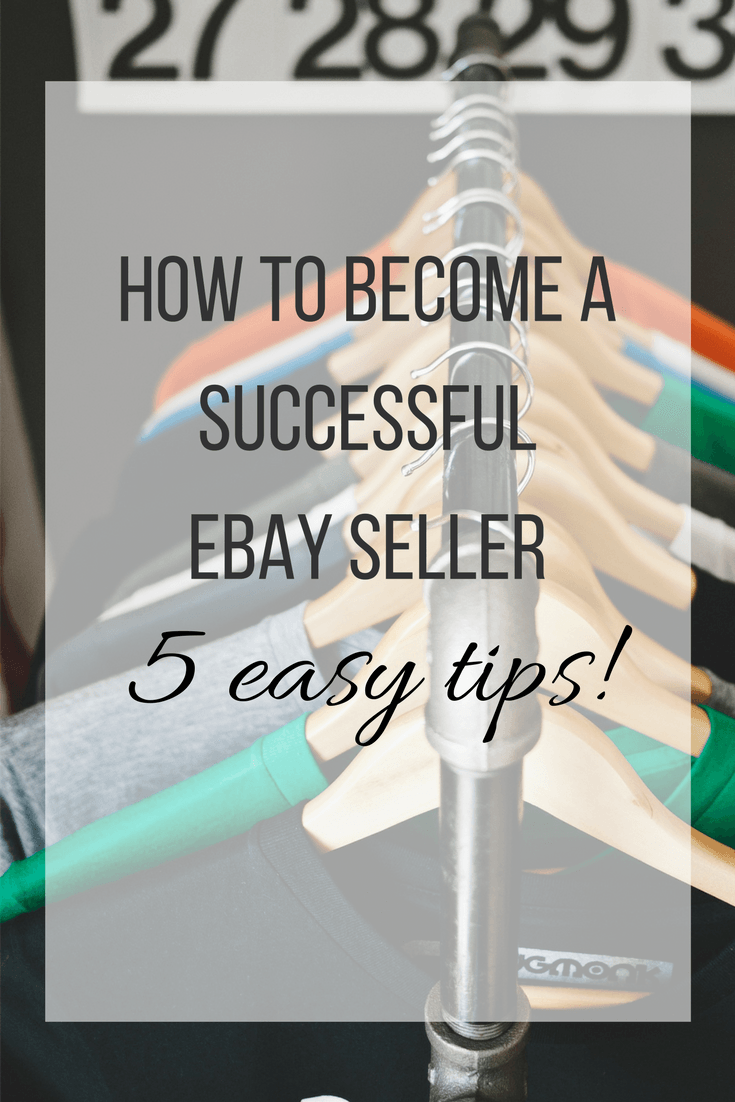 How To Become A Successful Ebay Seller Ebay Selling Tips Making Money On Ebay Budgeting Money