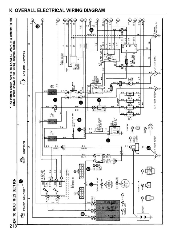 1996 Toyota Camry Wiring Diagram Lights Wiring Diagram Frankmotors Es