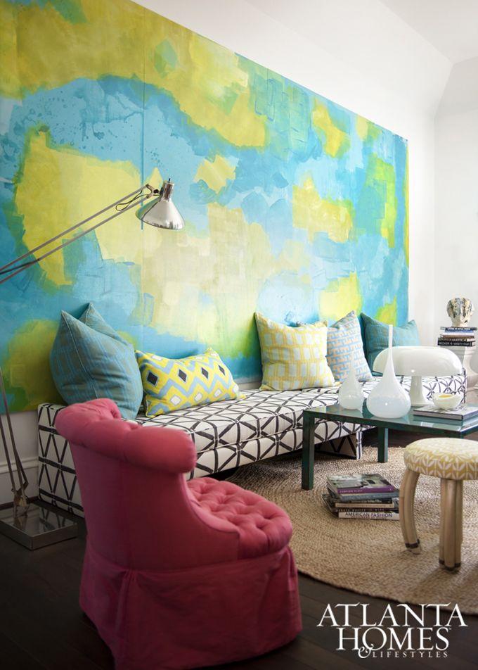 Barbara Marshall Howard House Of Turquoise Atlanta Homes Home