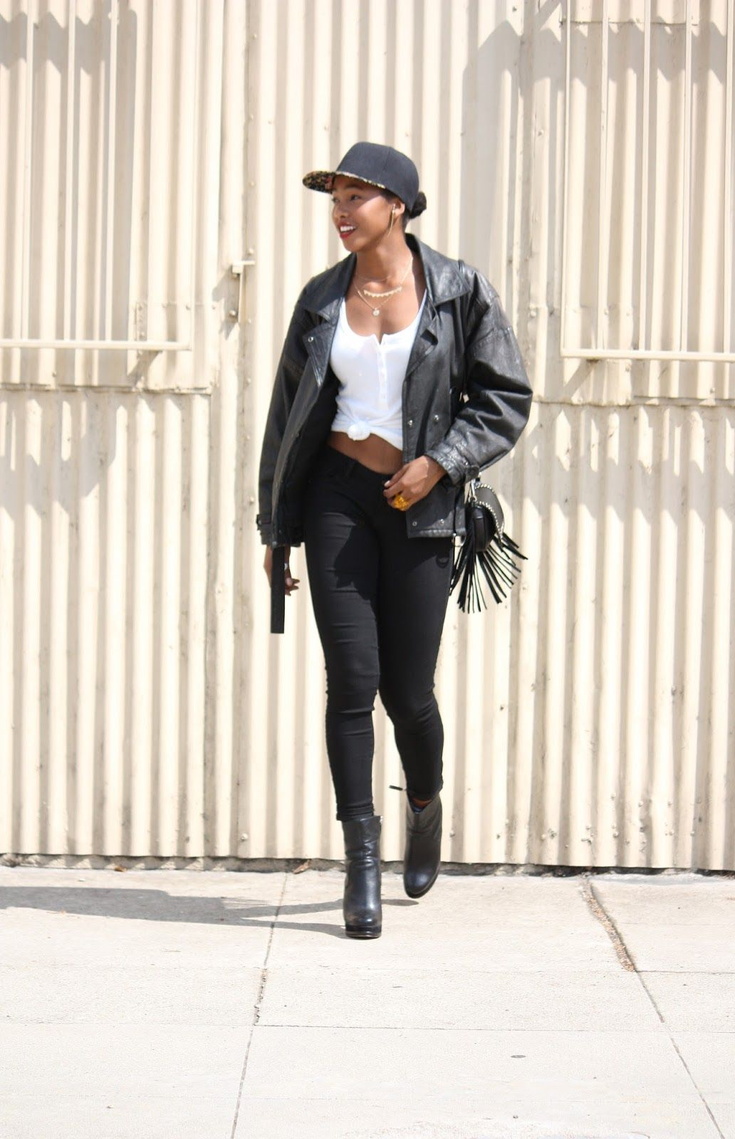 Honey In My Heels: ---->>>> Cool LA Days  #fashion #streetstyle #blogger #leather #fringe #trend #ootd
