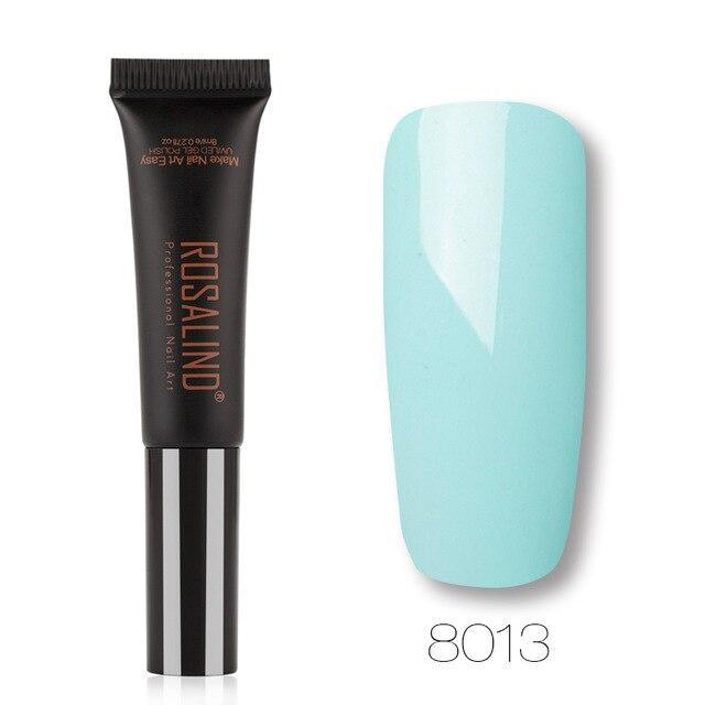 ROSALIND Gel 1S Neue Ankunft 8ML 8001-8030 Farbe Dawdler Gel Semi Permanent Tränken Weg Einfach Zu Verwenden uv gel nagellack   – Products
