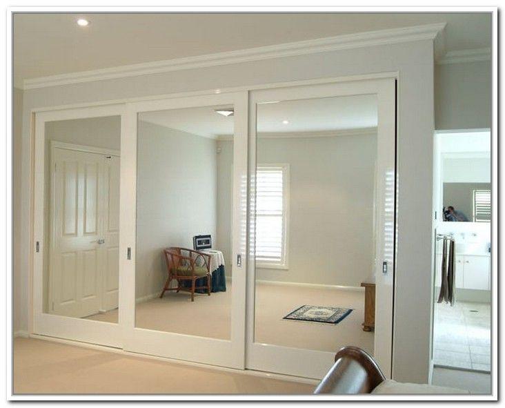 Nice Mirrored Closet Doors Sliding Photo   3