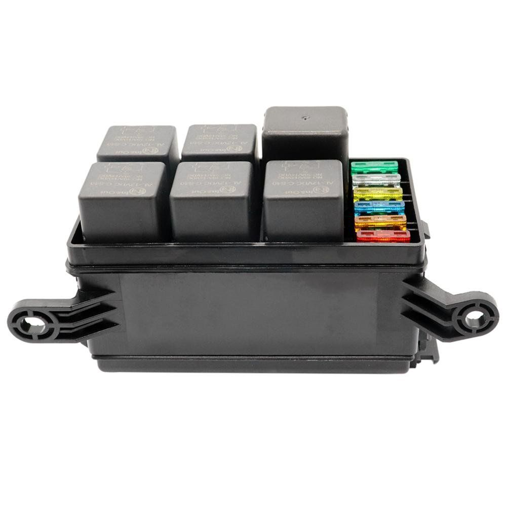 Unihappy Universal 12v Car Marine 6way Relay 6slot Blade Fuse Holder Box Block You Can Get More Details By Clicking On The I Car Fuses Car Accessories Fuses