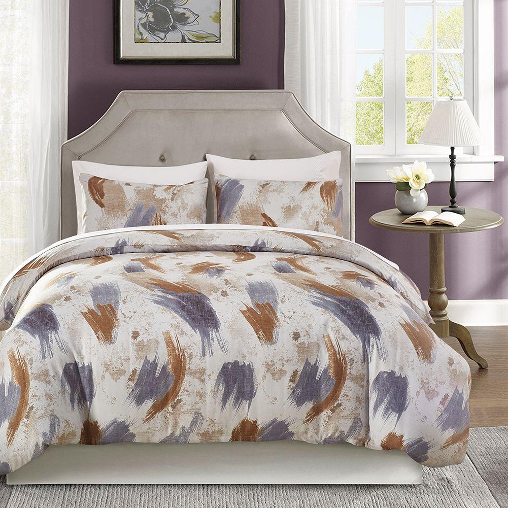 Eluxliving American Style Microfiber Fabric Bedding Sets