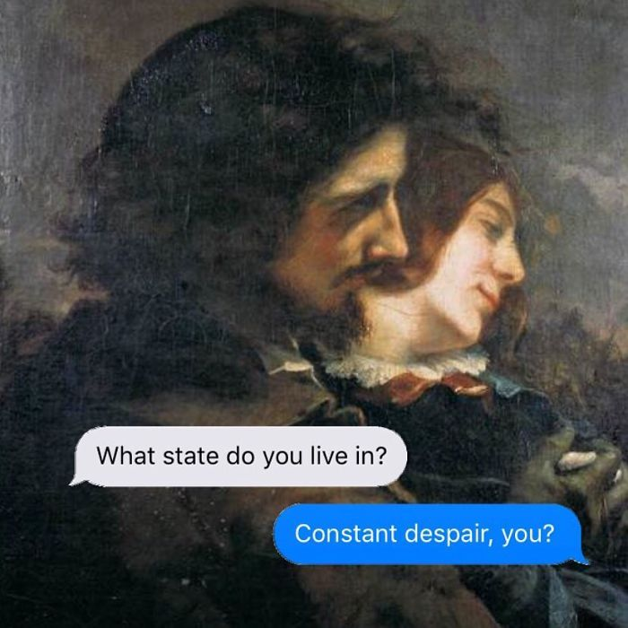 The Darkest Instagram Account Ever Will Make You Laugh Then Cry Dark Humor Art Memes Classical Art Memes