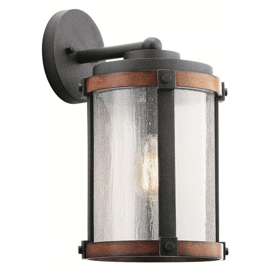 Kichler Lighting Barrington 16 In H Distressed Black And